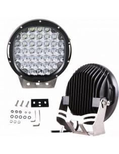 Phares LED de travail 96W chacun diam 225 mm noir