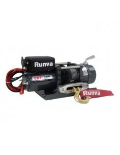 Treuil Electrique Runva 2041 kg 12v corde et Radio commande