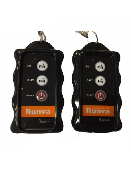 Treuil Electrique Runva 1360 kg 12v corde et Radio commande