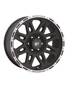 Procomp Serie 05 Flat Black Machined 8x17 entraxe 5x127