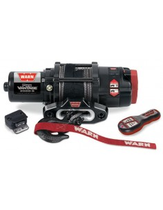 TREUIL Warn Pro Vantage 2500-S CE corde synthétique et télécommande