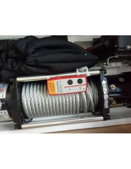 Treuil Electrique WinchExpert 5907 Kg 12v telecommande