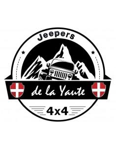 Sticker Jeepers de la Yaute diam 40cm