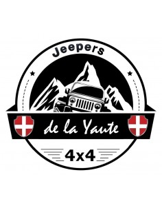 Sticker Jeepers de la Yaute diam 10cm