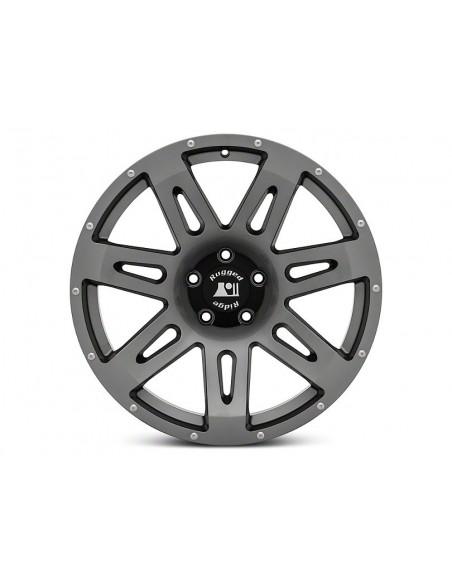 XHD Wheel  17x8.5 Gun Metal  Jeep Wrangler JK JL 5x127 15301.61