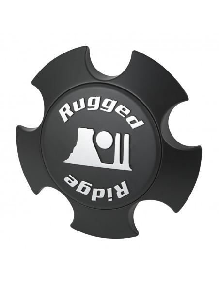 Capuchon central XHD Rugged Ridge, noir mat 15305.51