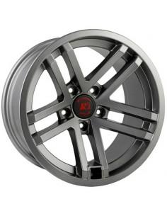 Jesse Spade Satin Gun Metal Gray Wheel 17x9 Jeep Wrangler JK JL 5x127 15303.92
