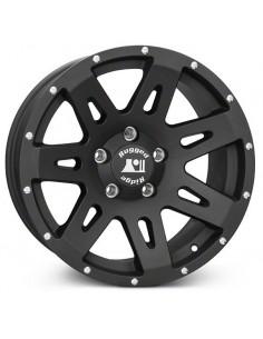 XHD Wheel 17x9 noire satinée Jeep Wrangler JK JL 5x127 noire satinée