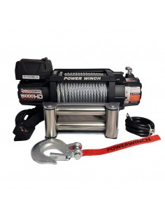 Treuil PowerWinch HD 6804 Kg 12v IP68 Extreme