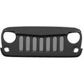 Calandre agressive Jeep Wrangler JK 2et 4 portes avec grille