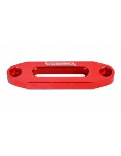 Ecubier Aluminium rouge pour treuil 4500LB -2041KG