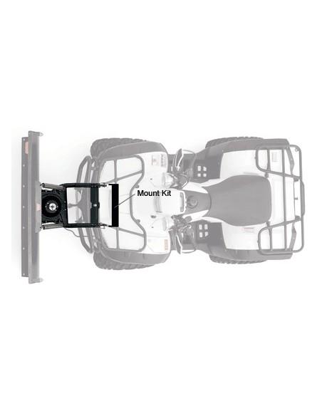 Kit complet de lame 127cm. pour Brute Force 750i (2008-2012) fixation frontale