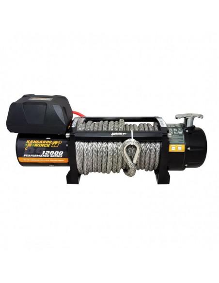 Treuil Electrique Kangaroowinch 5400Kg 12v telecommande corde synthétique