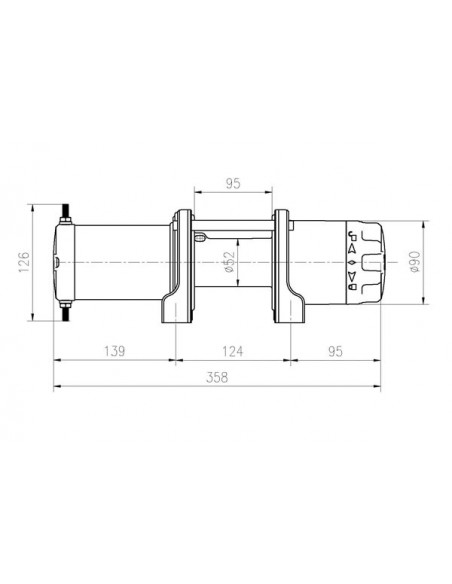 TREUIL T-max ATW PRO 12V 1134 kg