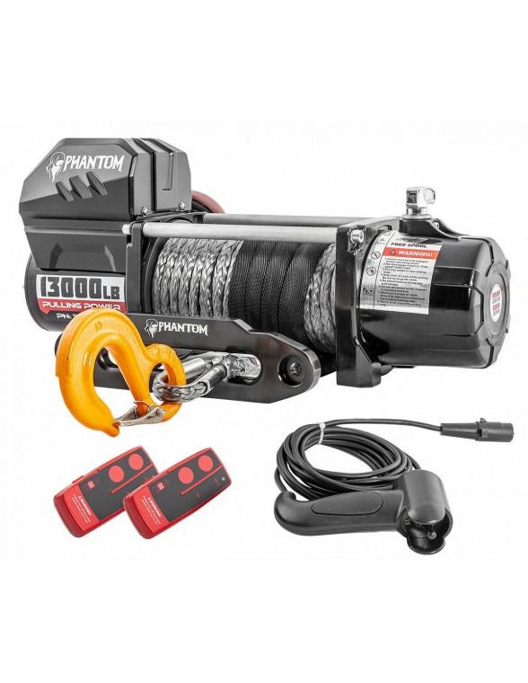 Treuil Electrique Phantom 5900 Kg 12v corde synthétique