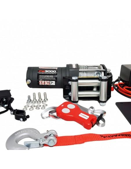 Treuil Electrique PowerWinch 1360 Kg 12v telecomande