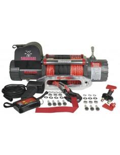 Treuil Electrique Warrior Samurai V2 6577kg 12v corde Synthétique