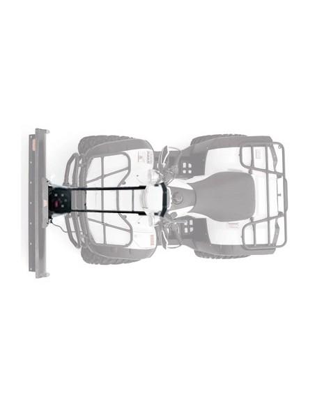 Kit complet de lame 127cm. pour Sportsman 500/800 (2011-2013) fixation centrale