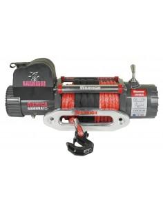 Treuil Electrique Warrior Samurai 6577kg 24v corde Synthétique