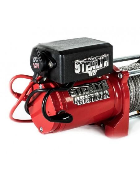 Treuil Electrique Stealth V2 2041 kg 12v corde et telecommande