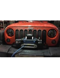 Support de treuil pour jeep JK JKU 2007 a 2018 PC origine