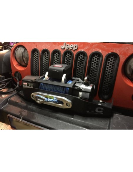 Support de treuil pour jeep JK JKU 2007 a 2018 PC origine