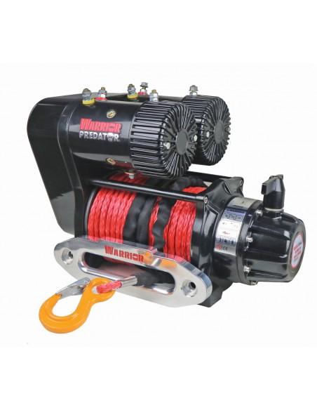 Treuil Electrique Warrior Predator Bi moteur 4536kg 12v