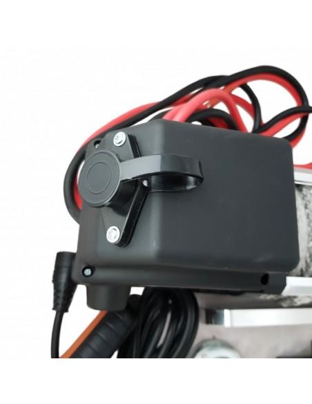 Treuil Electrique Kangaroo 2720 Kg 12v corde synthétique