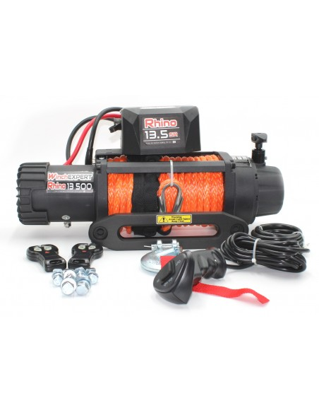 Treuil WinchExpert Rhino 6130 KG corde synthétique
