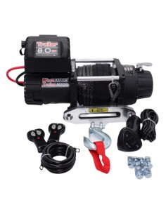 Treuil Electrique WinchExpert 3629 Kg 12v corde synthétique