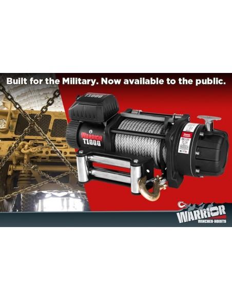 Treuil Electrique Warrior Militaire 9979kg