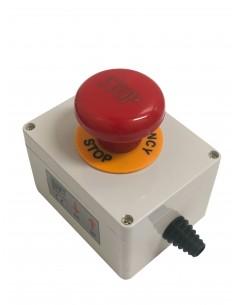 Coupe circuit type arrêt d'urgence étanche IP54